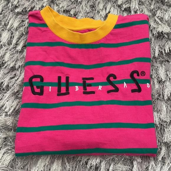 Men's Guess striped T-shirt